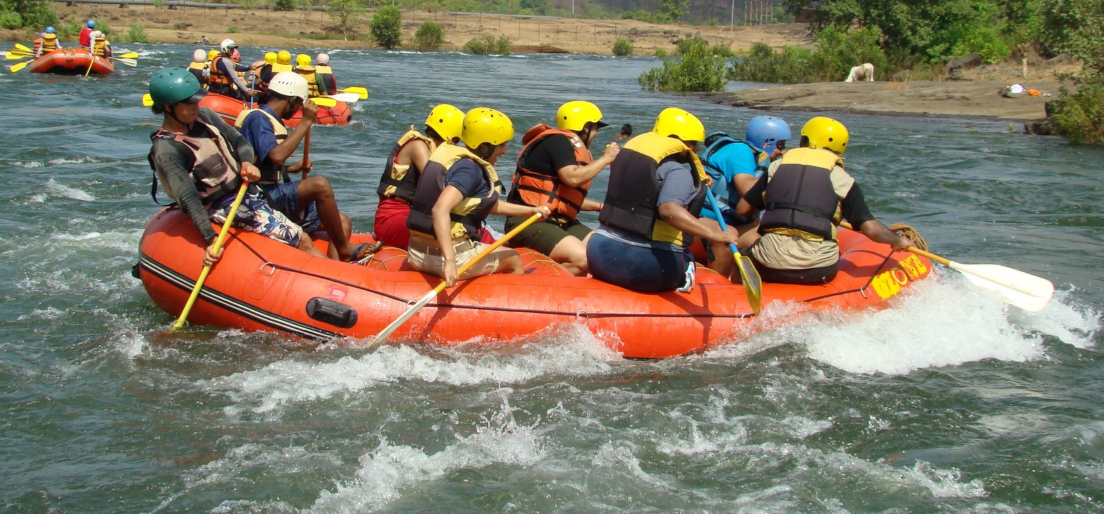 Ride the rapids with friends